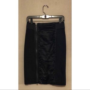 Nanette Lepore high waisted skirt with front zip